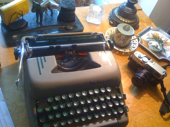 Photograph of The Old Typewriter
