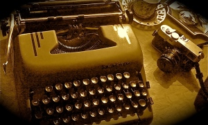Photograph of My Old Typewriter