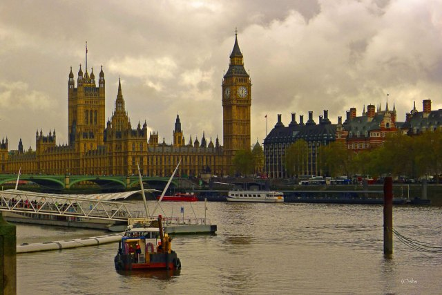 Photograph of Houses of Parliament by susan sheldon nolen