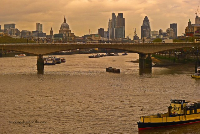 Photograph of London by susansheldonnolen