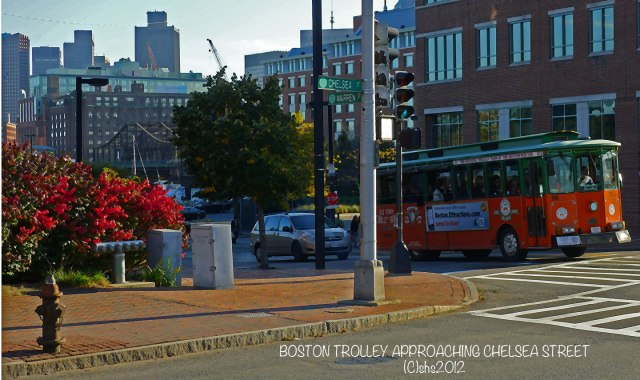 Boston Trolley by shs