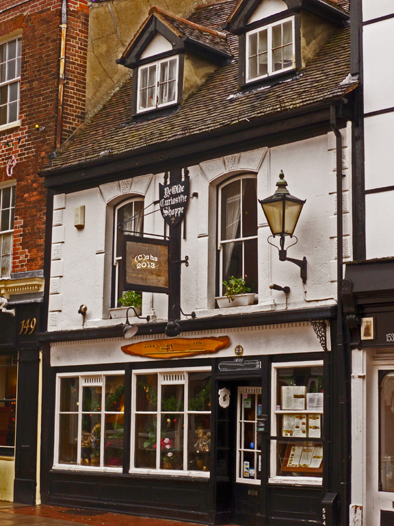 The Old Curiosity Shop, Rochester Kent, photographed by susan sheldon nolen