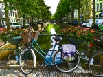 Photograph of a dutch bike by susan sheldon nolen