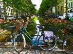 Photograph of a dutch bike by susan sheldon nolen