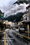 photograph of downtown juneau alaska by susan sheldon nolen © 2013