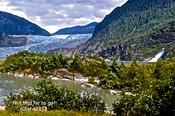 photograph of mendenhall glacier by susan sheldon nolen 2013