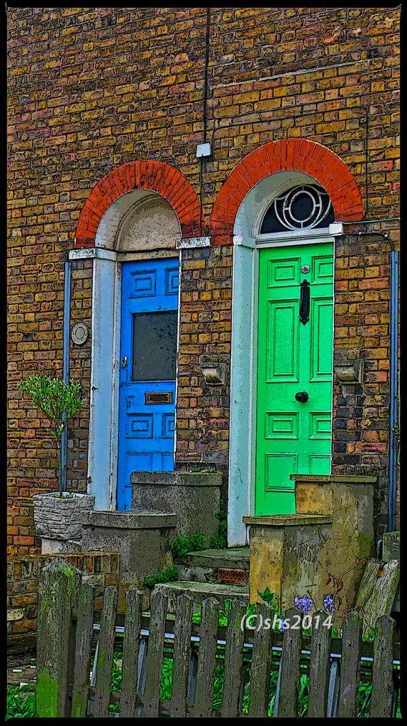 Susan Sheldon Nolen's Doors- Whitstable Kent