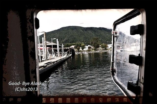Photograph of Alaskan Harbour by susan sheldon nolen