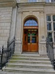 Photograph of the London Library Door by Susan Sheldon Nolen