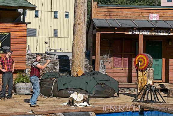 photograph of lumberjacks roaring by susan sheldon nolen