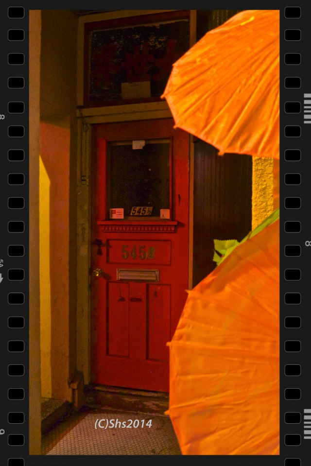 Susan Nolen's photograph of a door in Chinatown Victoria Canada