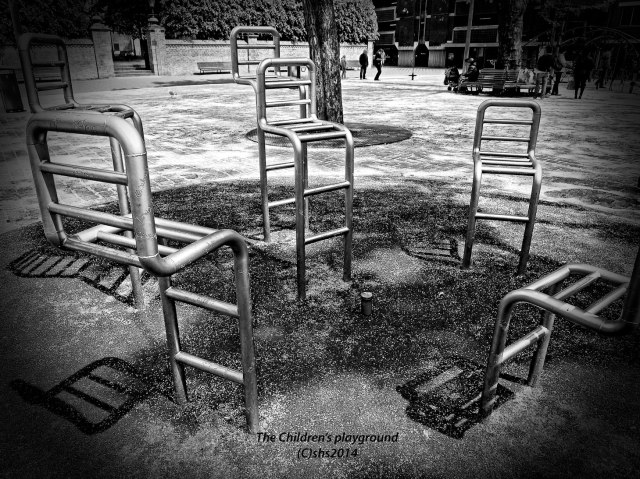Photograph of the children's playground by susan sheldon nolen