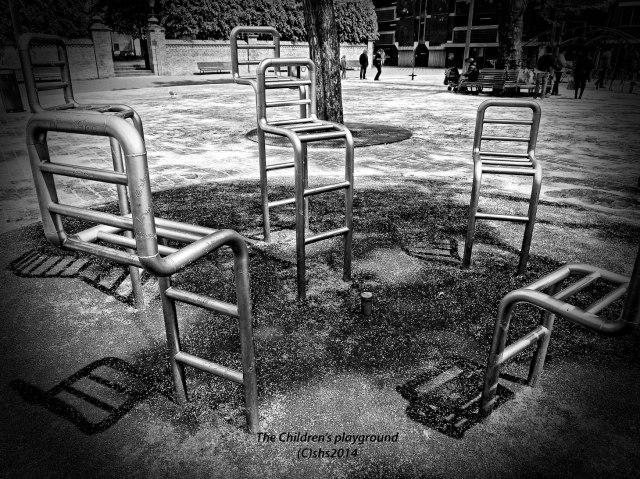 Photograph of the children's playground by susan sheldon nolen