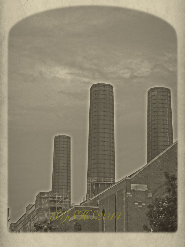 Battersea power station by susan sheldon nolen