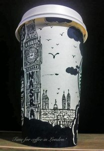 Gabriel's London Starbuck's Cup