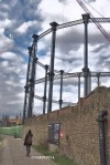 Susan Nolen's Photograph of the Gas Holder London England
