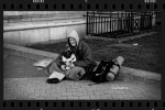 Susan Sheldon's Photo of homeless man and dog in London England