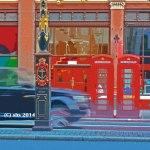 Art Photo of London Cab by S H Sheldon
