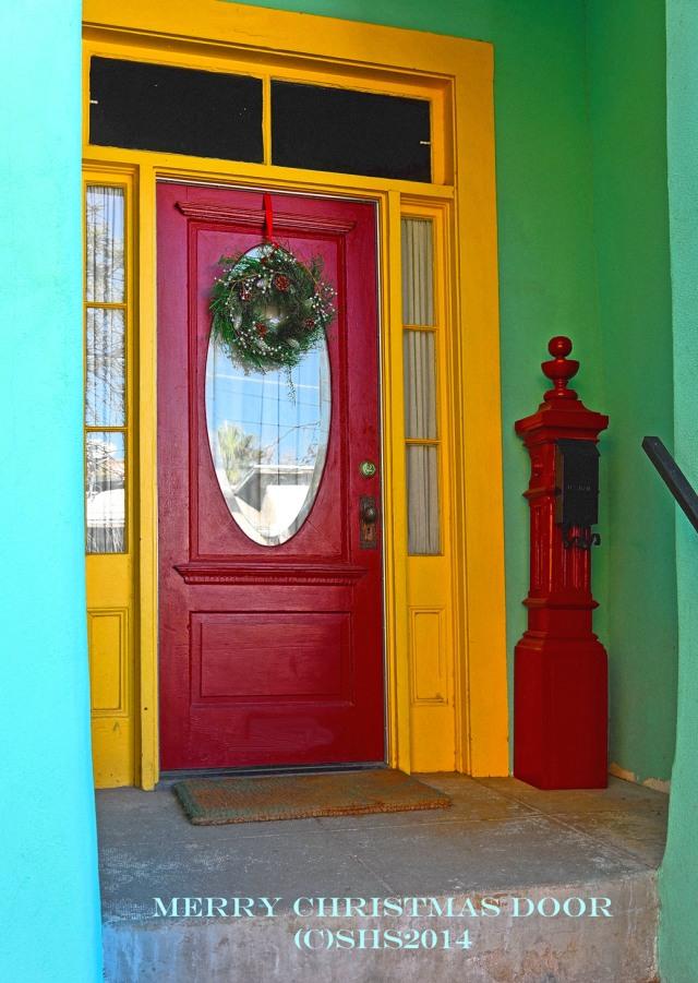 Susan Sheldon Nolen's Tucson Christmas Door