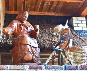 Susan sheldon nolen's spinning woman