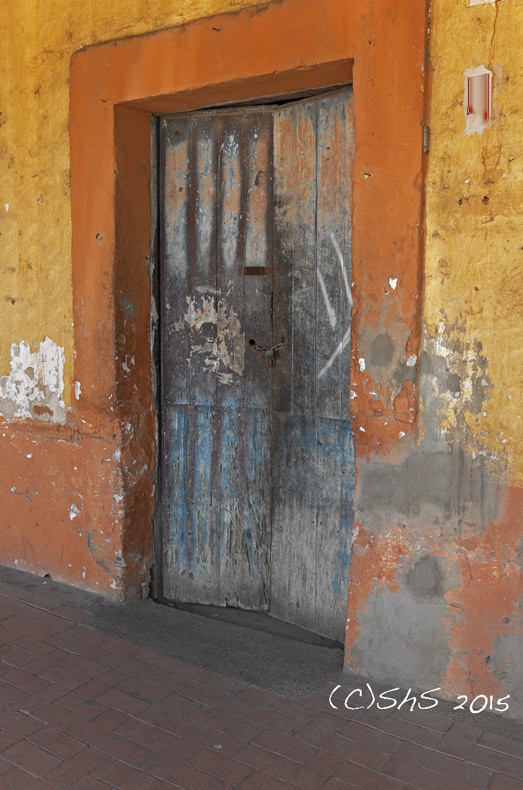 Susan Nolen's Photograph of a Mexican door