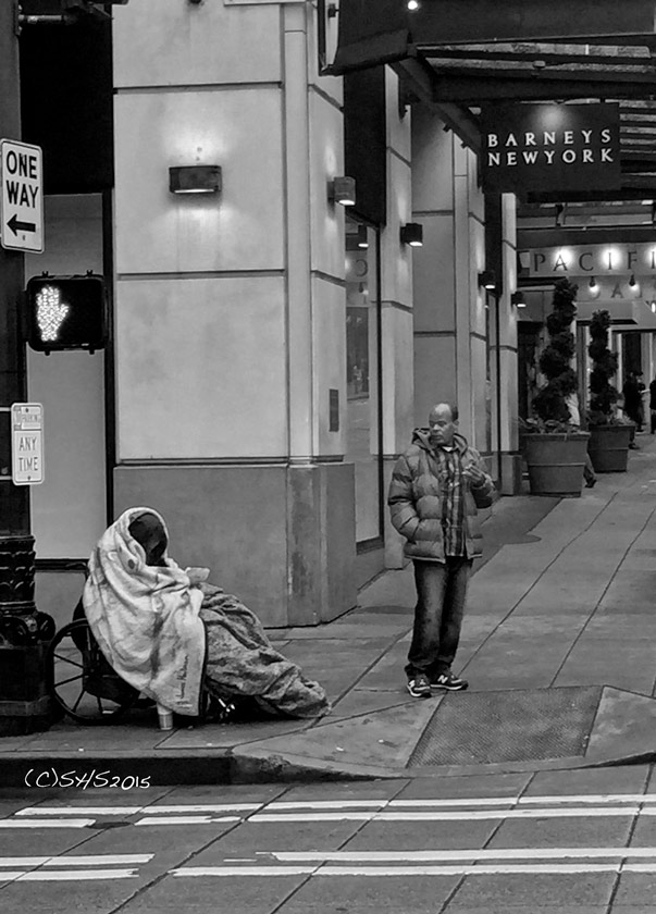 Susan Nolen's Photograph of the homeless in Seattle
