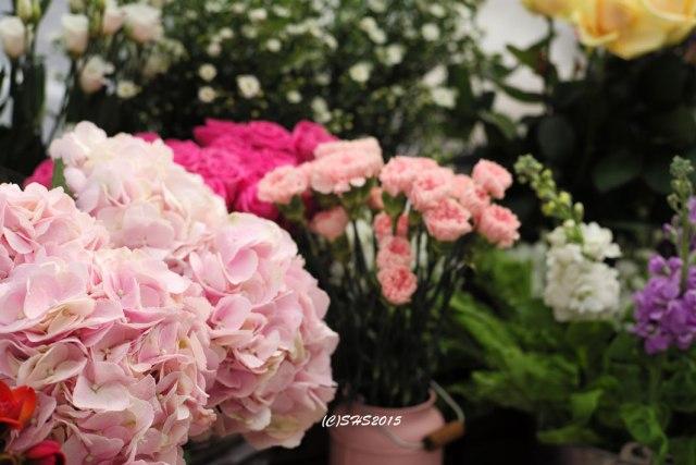 Photograph of London Market Flower by Susan Sheldon Nolen